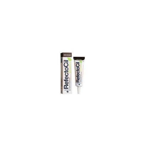 Refectocil sensitive, henna do koloryzacji brwi i rzęs - ciemny brąz, 15ml - Super promocja