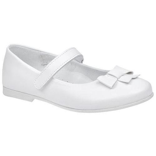 4db0a4e5 Zobacz w sklepie Balerinki buty komunijne KORNECKI 6097 Białe Baleriny -  Biały