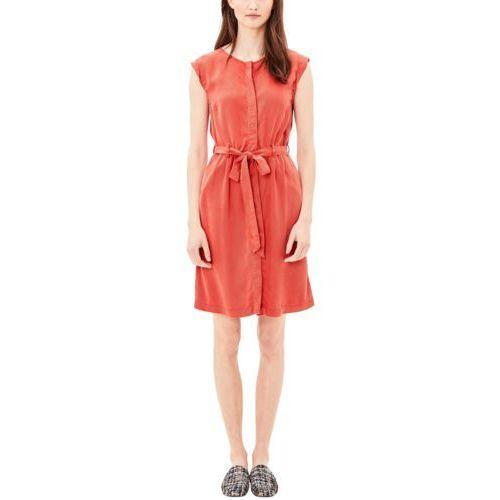 S.oliver sukienka damska 38 czerwony