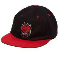 czapka z daszkiem SPITFIRE - Bighead Fill Blk/Red (BLK-RED)