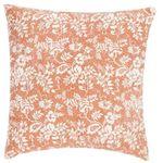 Poduszka Flower Garden 45x45 - pomarańczowy