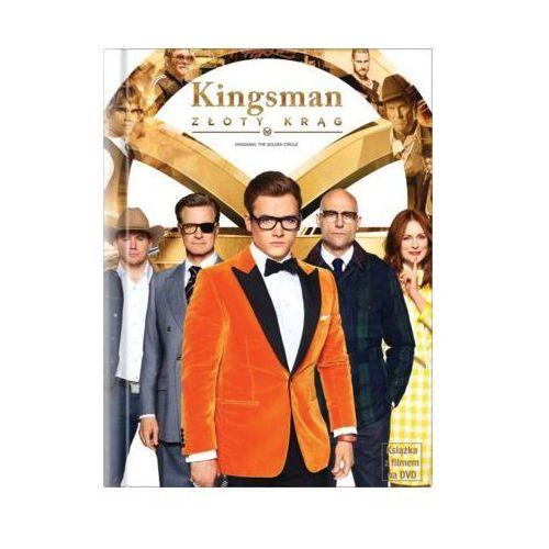 Kingsman: złoty krąg (dvd) + książka Imperial cinepix