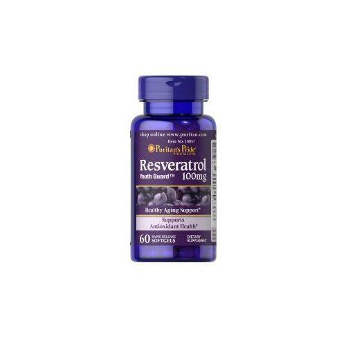 Resweratrol 100 mg /60 kaps Puritan's pride