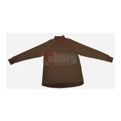 Koszulka termoaktywna Harkila Hunter Nordkap, skład 45% wełna Merino, z suwakiem, długi rękaw - 177811 LX (2010000003183)