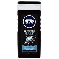 Nivea Men Rock Salt żel pod prysznic 250 ml dla mężczyzn
