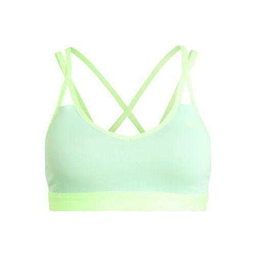 Nike Performance PRO INDY Biustonosz sportowy fresh mint/ghost green/ghost, 844233