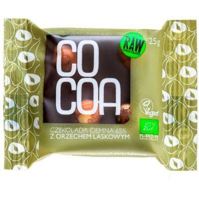 Czekolady i bombonierki COCOA (czekolady i bakalie w surowej czekoladzie)