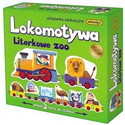 Adamigo Lokomotywa - literkowe zoo -