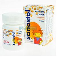 Sanostol - 30 tabletek Musujących Do Ssania (5903263900238)