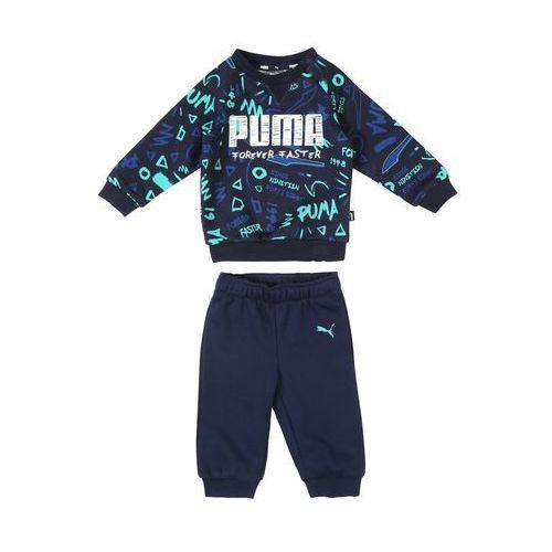 Puma strój do biegania niebieski / mieszane kolory (4060981369592)