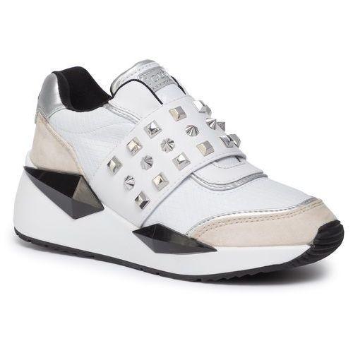 Sneakersy - tinsel fl8til ele12 white, Guess, 35-41