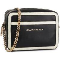 Torebka SILVIAN HEACH - Shoulder Bag Small Sh Jaklin RCA19052BO Black/White W0236