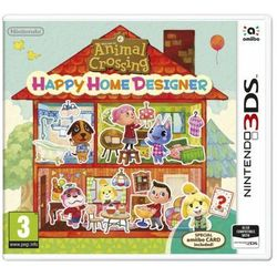 Animal crossing: happy home designer + karta amiibo gra 3ds nintendo marki Nintendo