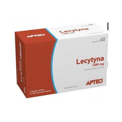 Kapsułki Lecytyna 1200 mg APTEO 40 kaps