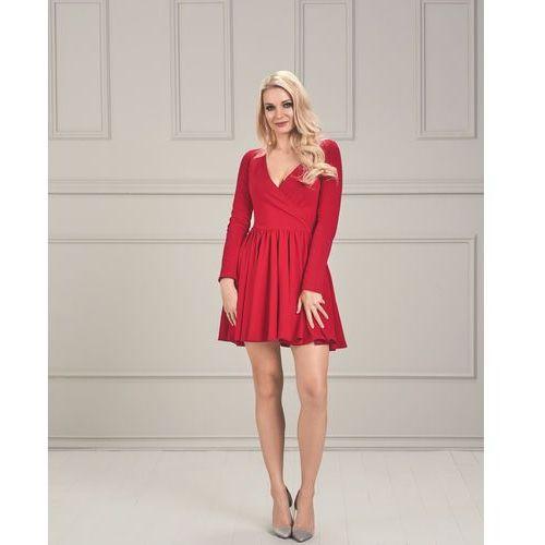 Sukienka Chelsy w kolorze czerwonym
