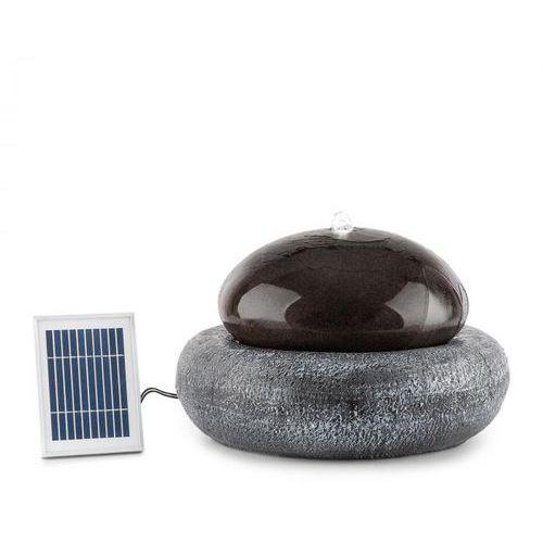 Ocean Planet Fontanna 200lh Panel Słoneczny Akumulator 2w Led Polyresin Blumfeldt