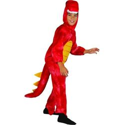 MaDe kostium dinozaura, M czerwony