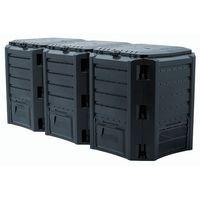 Prosperplast Kompostownik module compogreen 1200 l czarny