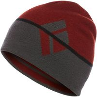 Black Diamond Brand Czapka, czerwony/szary One Size 2021 Czapki