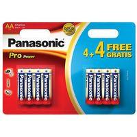 8 x  alkaline pro power lr6/aa (blister) marki Panasonic