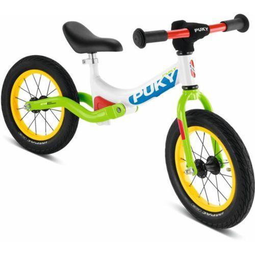 """Rower biegowy PUKY LR 1L Ride biały-zielony / Rozmiar koła: 12"""" (4015731040825)"""