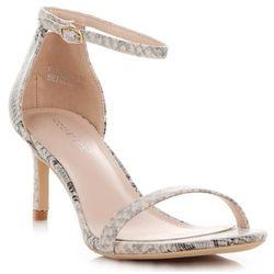 5c426b27721e8 Ideal Shoes. Klasyczne sandały damskie na szpilce renomowanej marki ...