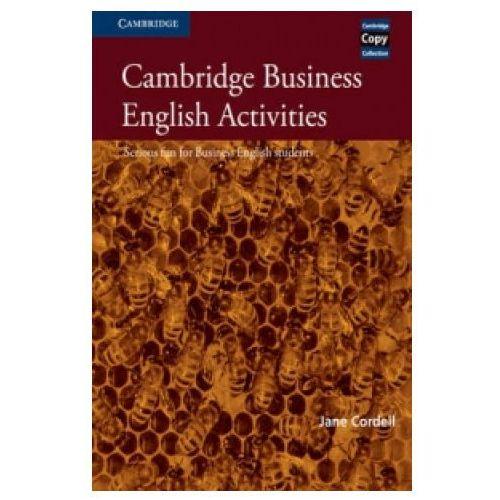 Cambridge Business English Activities, Book, oprawa miękka
