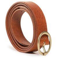 Pasek Damski WRANGLER - Extra Layer Belt W0D9U1X81 Cognac