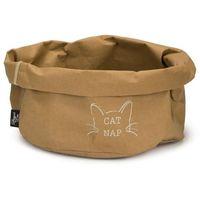 Designed by lotte legowisko dla kota cat nap, papier, 40 cm, brązowe