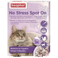 Beaphar No Stress Spot On Krople uspokajające dla kota 3x0.4ml