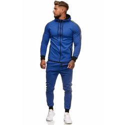 dres mĘski -niebieski 52007-1, kolor niebieski