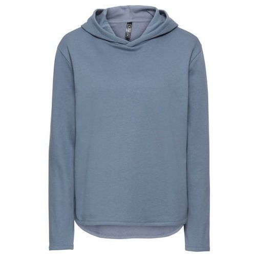Bluza dresowa dymny niebieski marki Bonprix