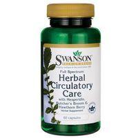 Kapsułki Full Spectrum Herbal Circulatory Health (Ruszczyk, Głóg Hesperydyna) 60 kaps.