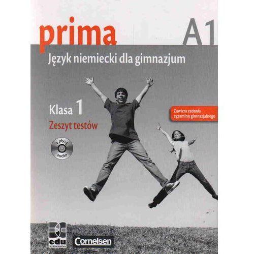 Prima A1 Język niemiecki 1 Zeszyt testów + CD, Cornelsen