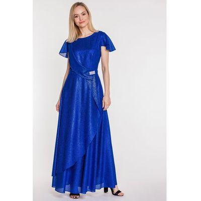 cd3d14c82e suknie sukienki sukienka maxi z dlugim rekawem ciemnoszara t143 ...