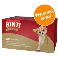 gold mini - multipack 8x100g marki Rinti