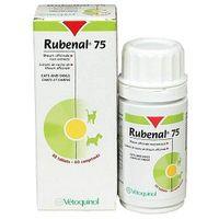 Vetoquinol rubenal 75mg. wspomagający funkcje nerek u psów i kotów 20/60tabl. marki Vetoquinol biowet