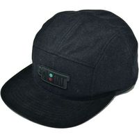 czapka z daszkiem HABITAT - Artisan Apex Black Cerna (CERNA)