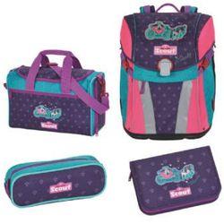 sunny plecak z akcesoriami szkolnymi, 4-częściowy - cinderella marki Scout