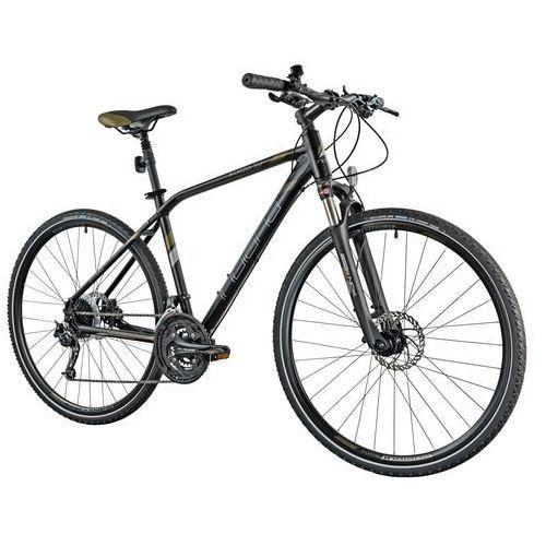 Indiana Rower x-cross 5.0 m19 czarno-brązowy + 5 lat gwarancji na ramę + zamów z dostawą jutro! (8015236235999)