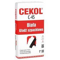 Cekol C-45 Biała gładź szpachlowa 1 kg (5906474450011)