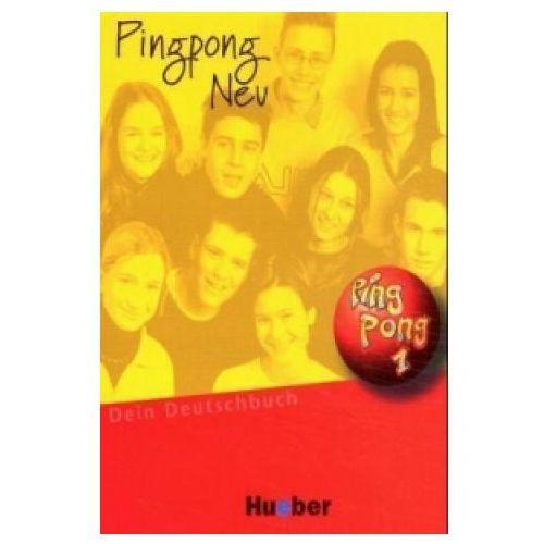 Pingpong neu 1. Język niemiecki. Podręcznik. Gimnazjum, Hueber
