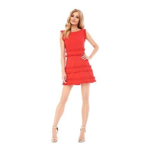 Sukienka kalmia w kolorze czerwonym, Sugarfree