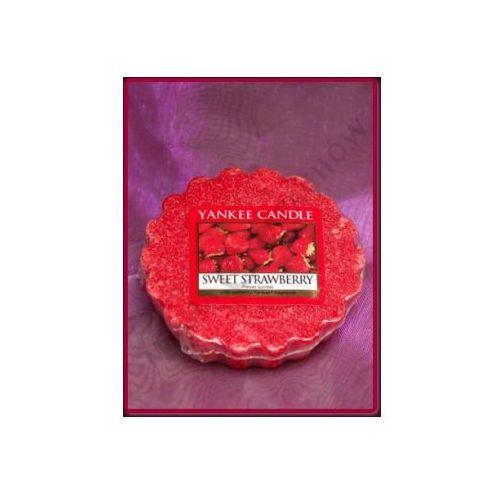 Yankee candle Słodka truskawka (sweet strawberry) - wosk zapachowy