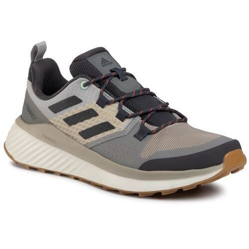 Buty adidas - Terrex Folgian Hiker EF0405 Feather Grey/Dgh Solid Grey/Green Tint, kolor szary