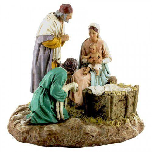 Produkt włoski Figura do szopki, święta rodzina,18 cm