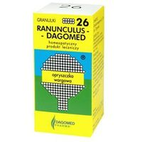 Granulat DAGOMED 26 RANUNCULUS Opryszczka wargowa granulki 7g