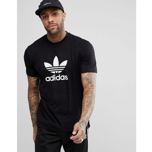 623721c7d adidas Originals adicolor t-shirt with trefoil logo in black cw0709 -  Black, kolor