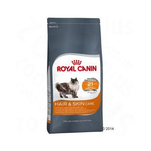 10 kg + 12 x 85 g karmy mokrej w super cenie! - hair & skin care 33 + intense beauty w sosie  darmowa dostawa od 89 zł i super promocje od zooplus! marki Royal canin