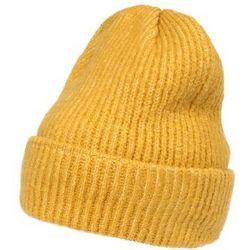 Pieces czapka 'ella' musztardowy